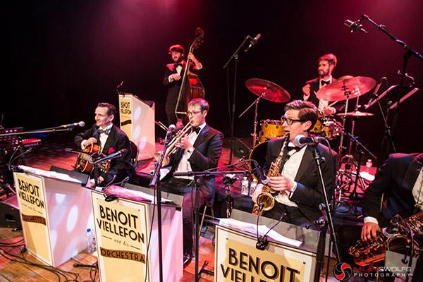 Benoit Viellefon & His Orchestra live in Belgium