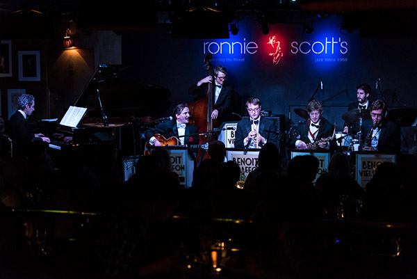 Benoit Viellefon & his Orchestra - swing band Live at Ronnie Scotts
